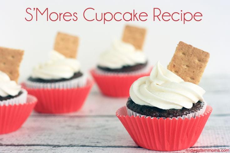 Delicious S'Mores Cupcake Recipe