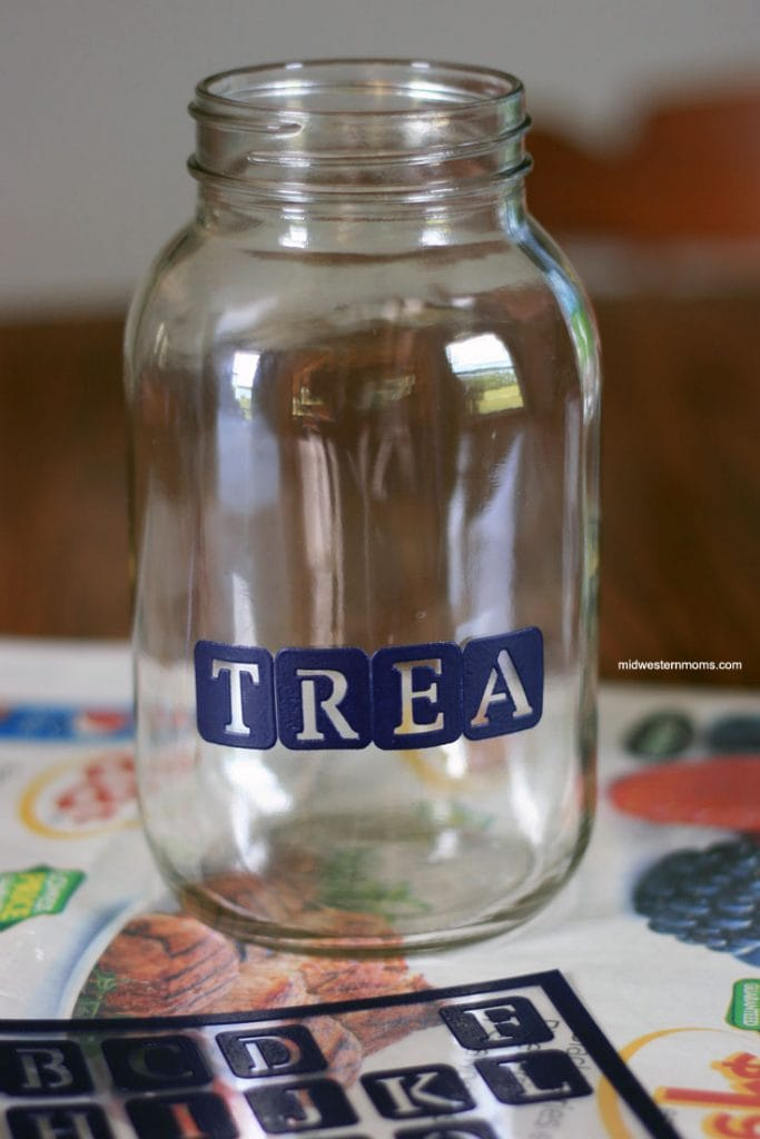 DIY Dog Treat Jar Step 2