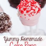 Yummy Homemade Cake Pops
