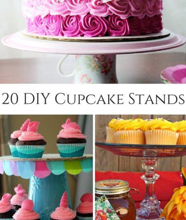 20 DIY Cupcake Stands