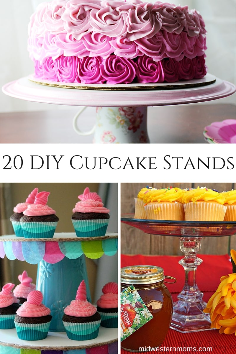 20 Incredible Diy Cupcake Stands