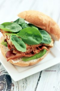 A deliciously satisfying Midwest Farm Burger that is perfect for brunch!