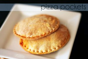 Delicious Pizza Pocket Recipe. Build them to your taste!