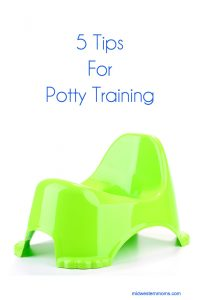 5 tips for potty training you child