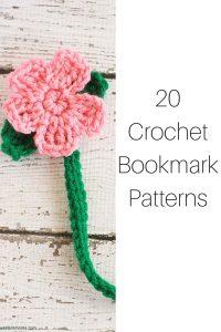 20 Crochet Bookmark Patterns