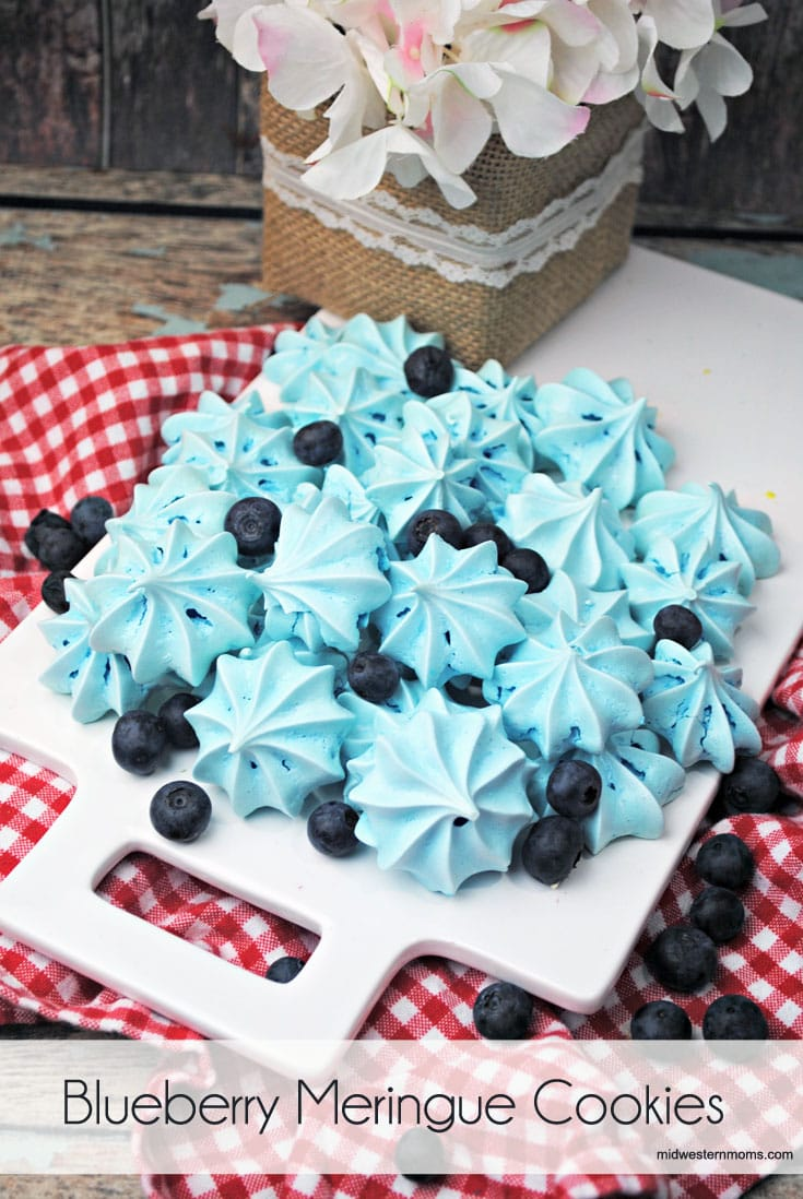 Blueberry Meringue Cookies Recipe