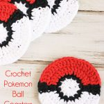 Crochet Pokemon Ball Coaster Pattern