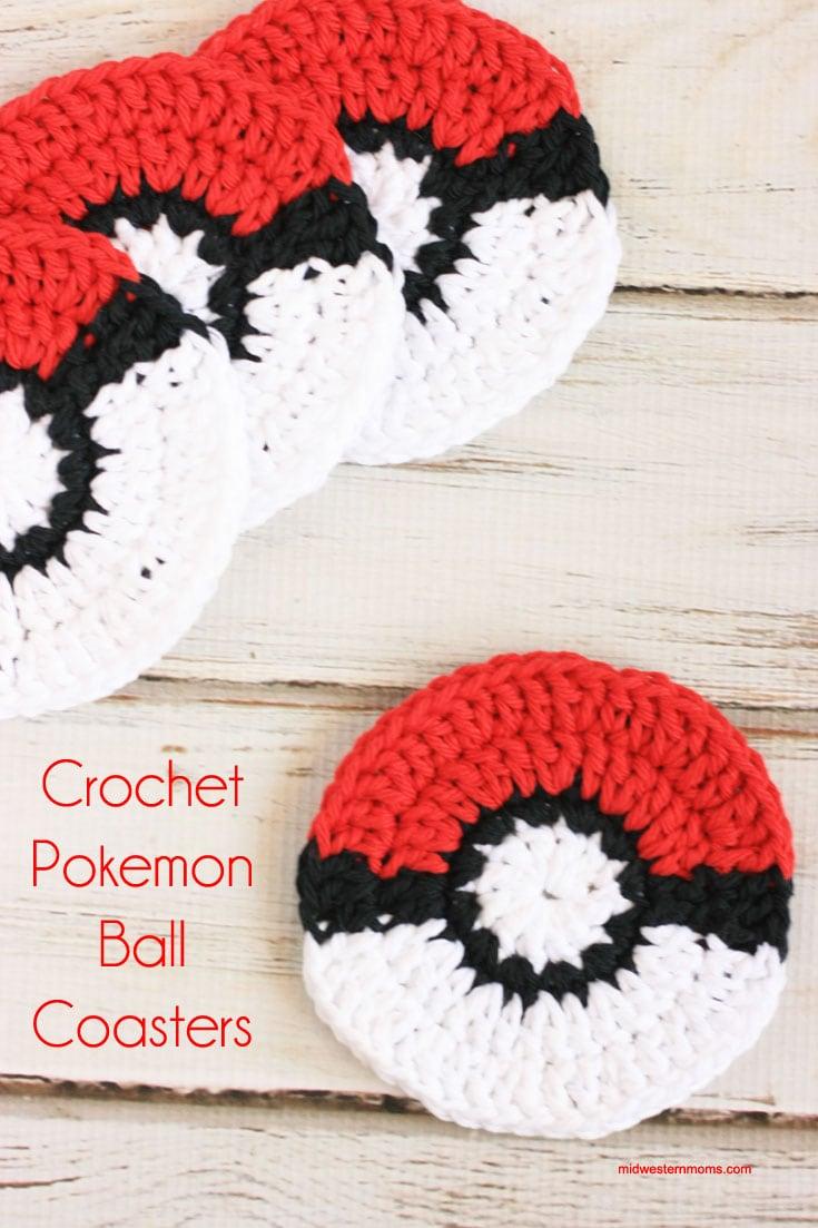 Crochet Pokemon Coasters