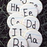 Handwriting Sugar Cookies Recipe