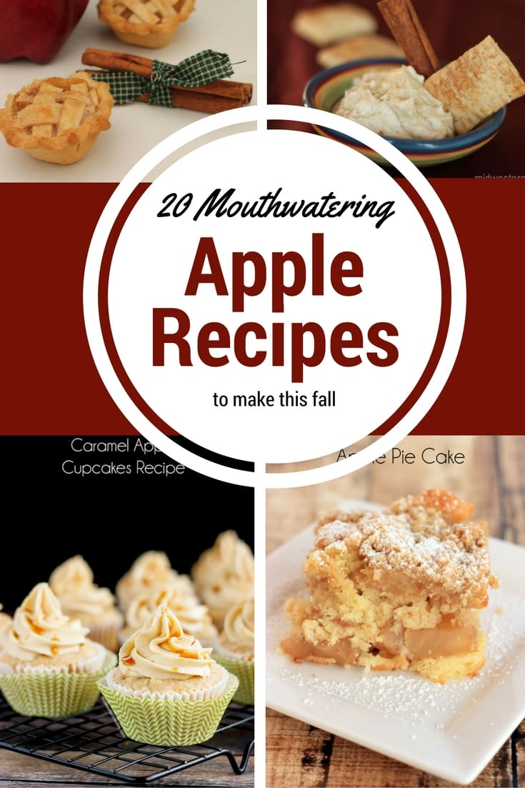 20 Mouthwatering Apple Recipe to make this Fall