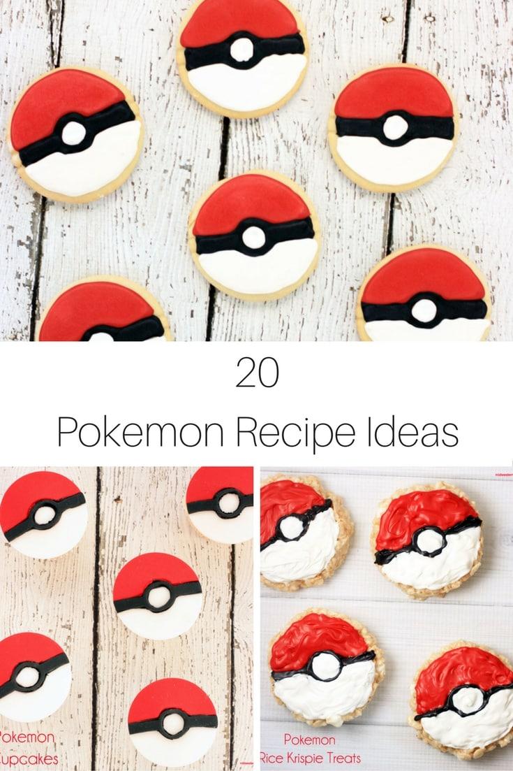20 Pokemon Recipe Ideas