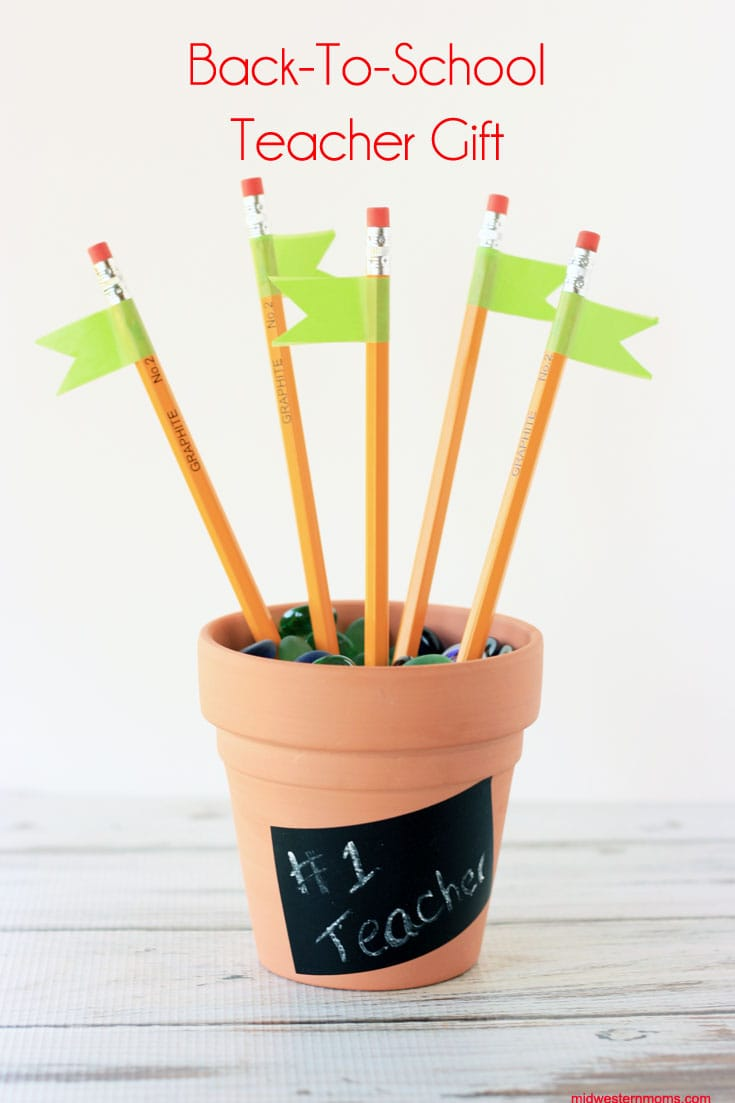 A simple back to school teacher gift to show your appreciation. You won't believe how easy this is!