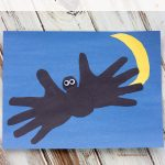 Handprint Bat Craft