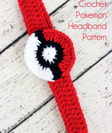 Super cute Crochet Pokemon Headband. Free Pattern!