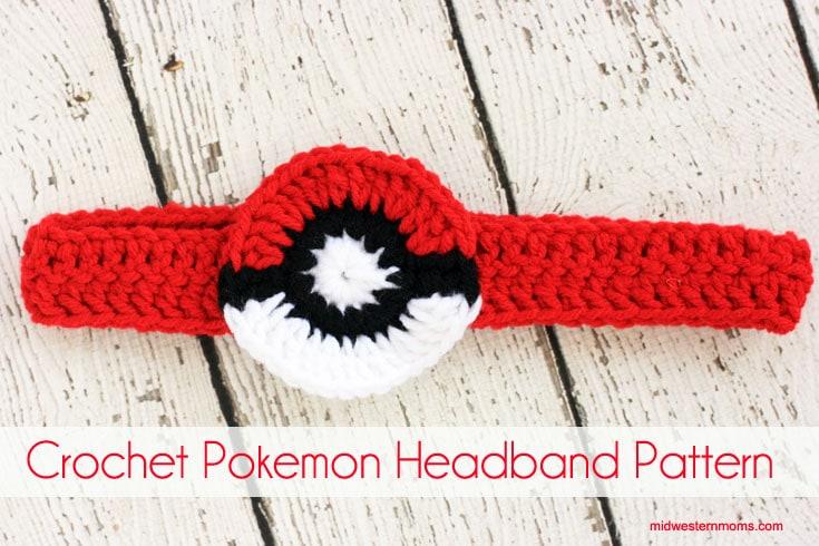 Super Cute Crochet Pokemon headband!