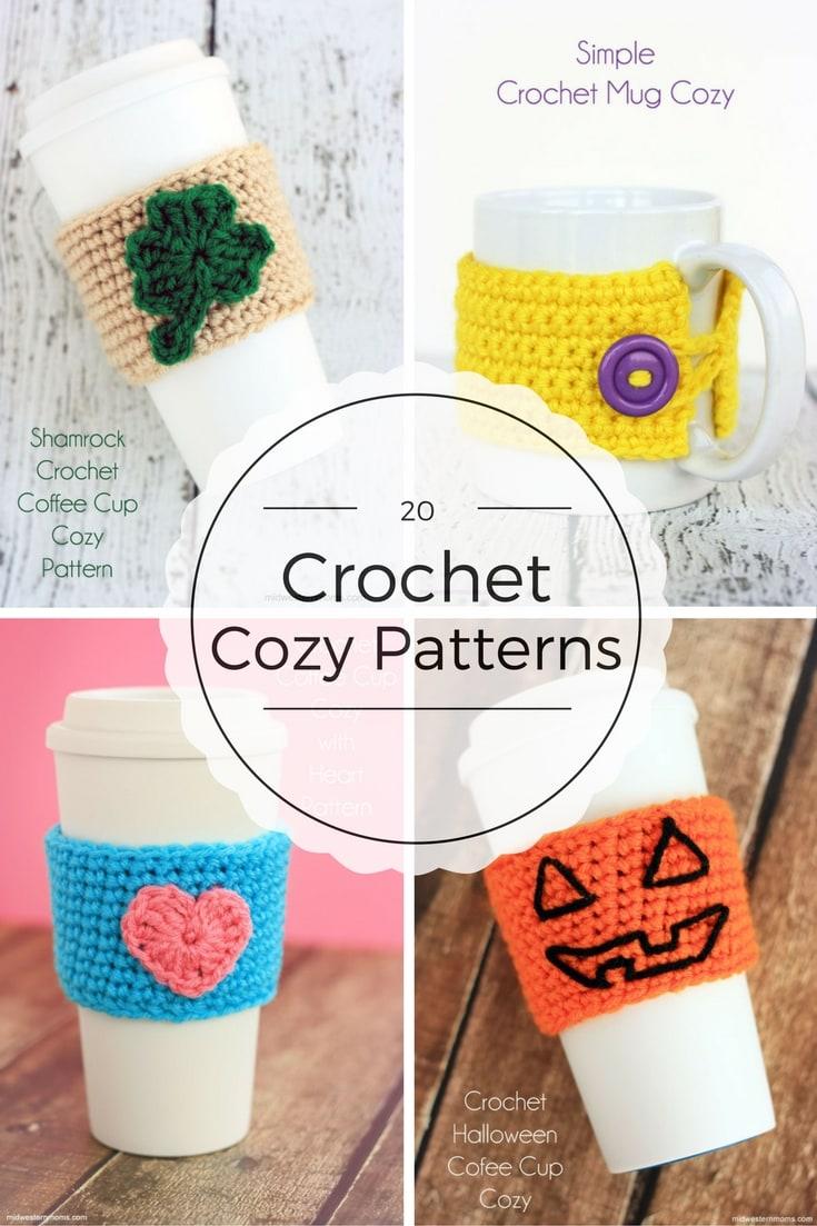 20 Free Crochet Cozy Patterns
