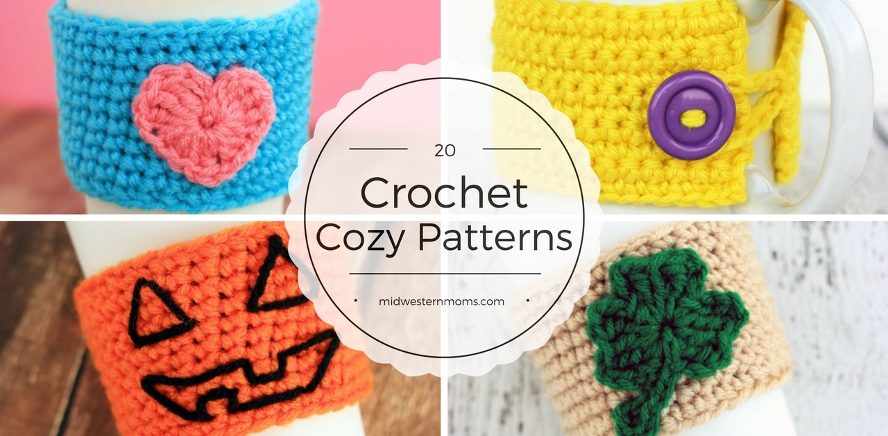 Crochet Koozie : 20 Crochet Cozy Patterns