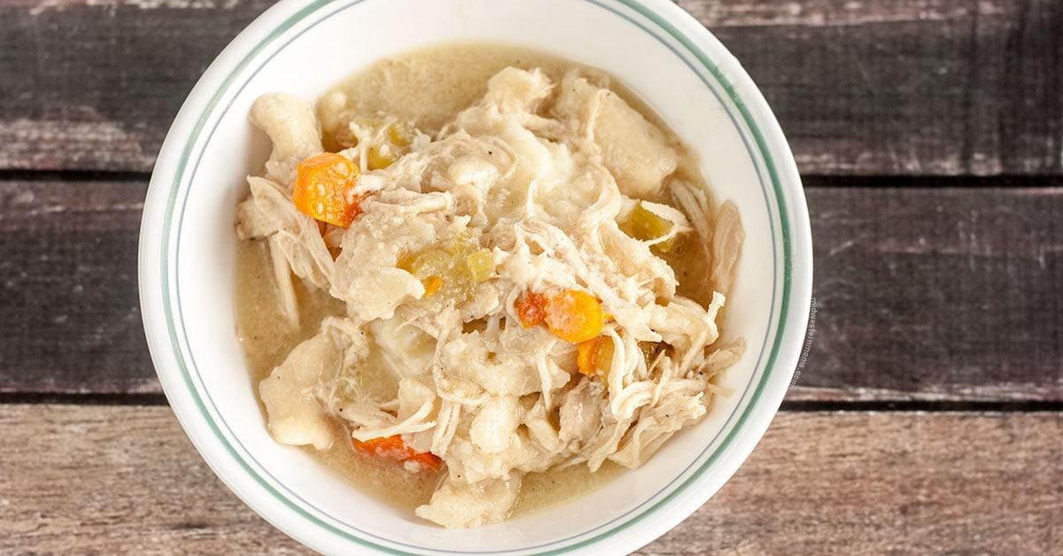 Easy Crock Pot Chicken Noodle Dinner Recipe: Bob Evans Copy Cat