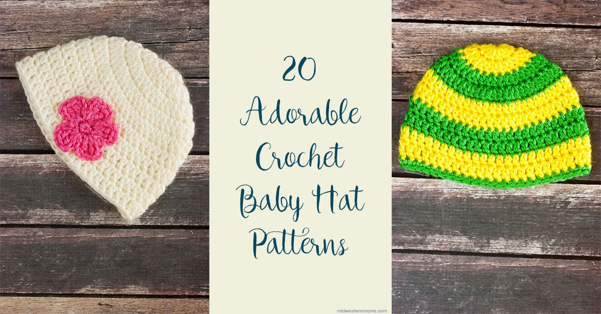 22 Adorable Free Crochet Baby Hat Patterns