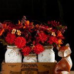 DIY Mason Jar Centerpiece For Fall