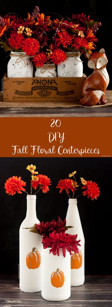 20 Fall Floral Centerpieces