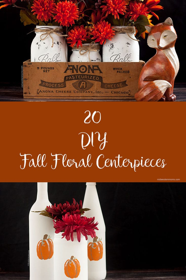20 DIY Fall Floral Centerpieces