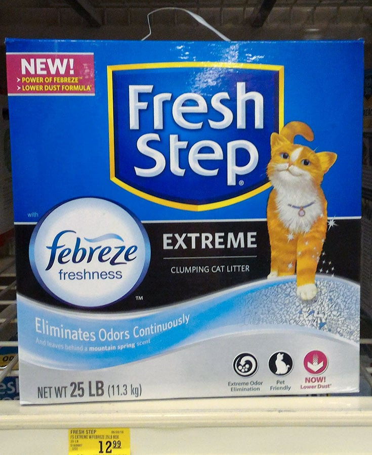 Fresh Step with the power of Febreze in Store photo