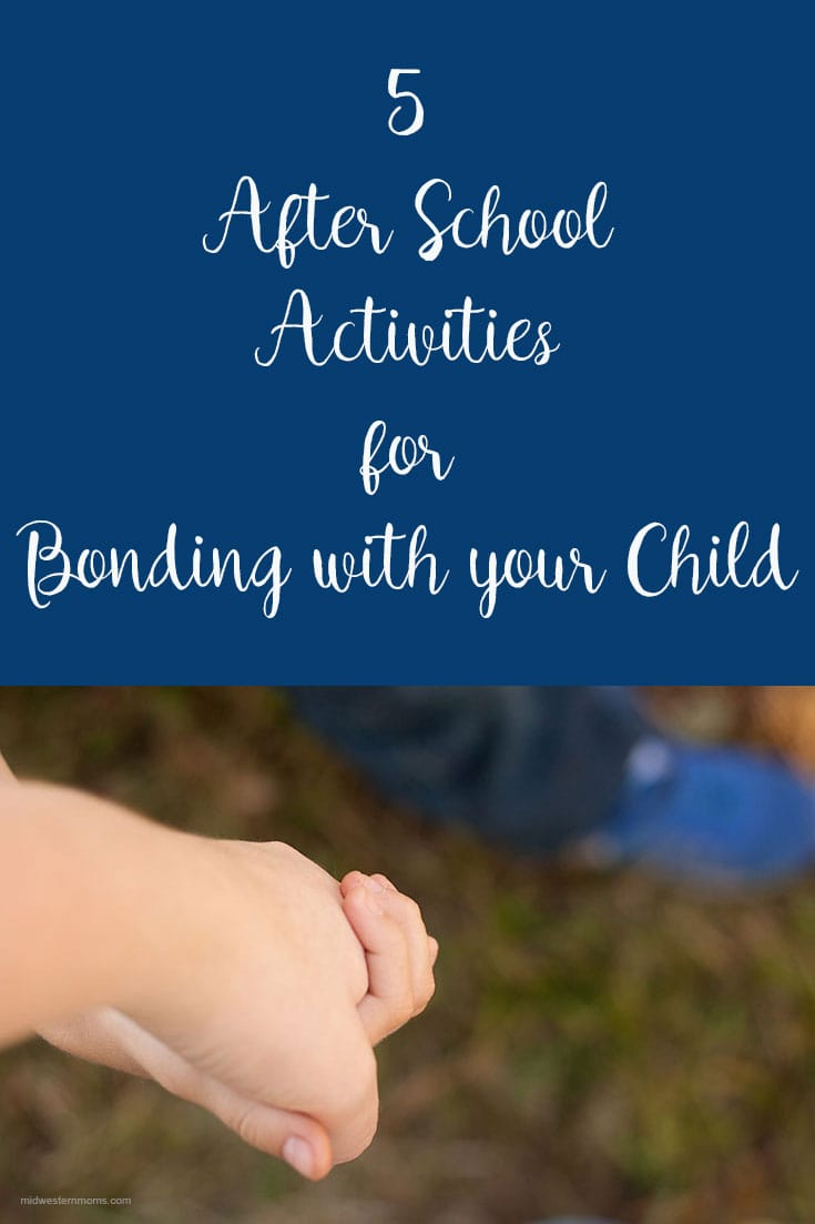 Time moves too fast. Take the time to reconnect with your child after school.