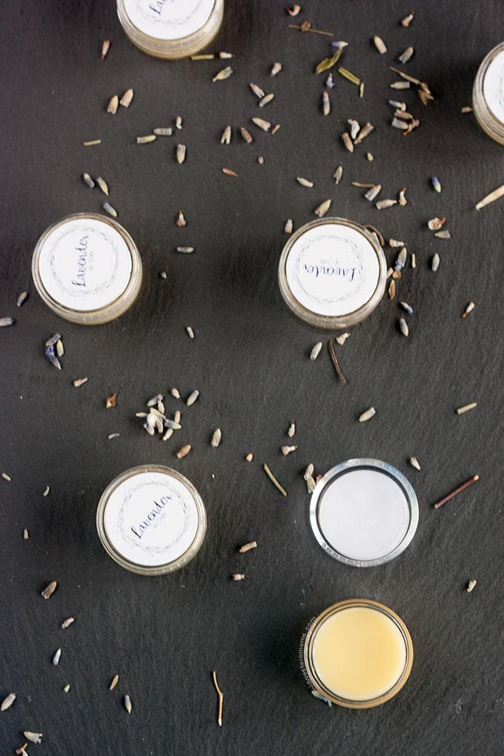 Lavender Lip Balm Recipe