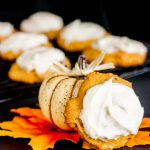 Pumpkin Chocolate Chip Cookies Recipe With Cream Cheese Frosting