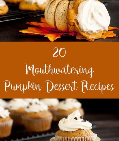 20 mouthwatering pumpkin desserts