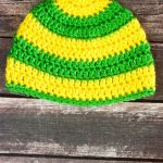 Striped Crochet Baby Hat Pattern