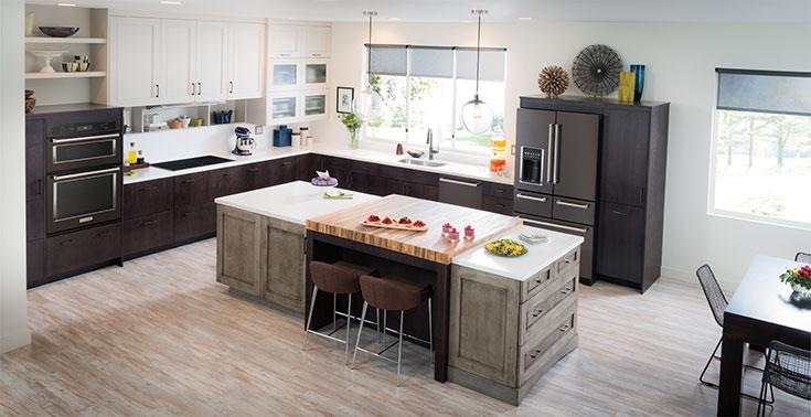 KitchenAid Black Stainless Appliances
