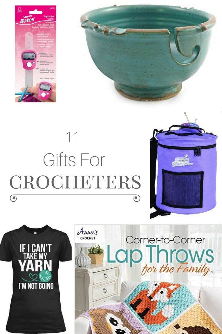 11 gifts for crocheters