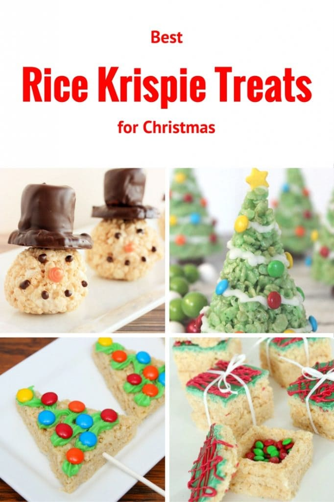 The Best Rice Krispie Treats for Christmas