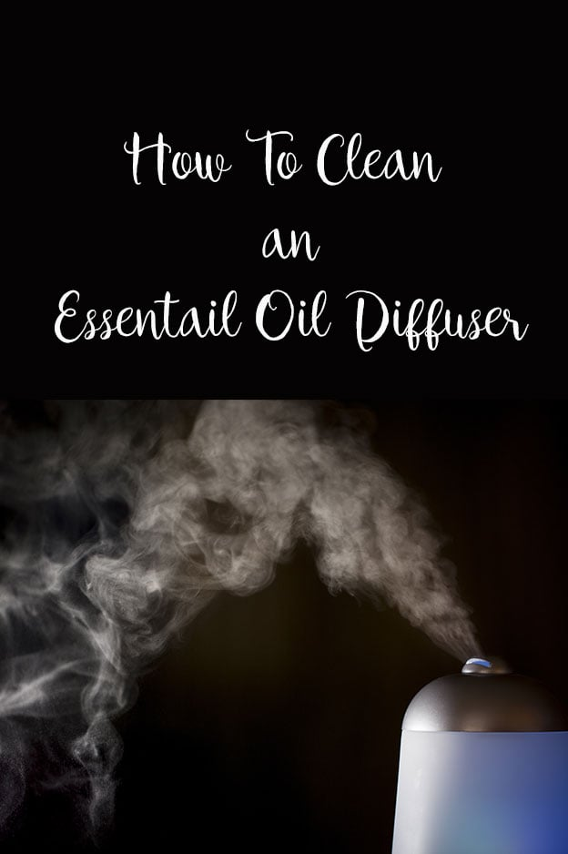 Learn how to clean an essential oil diffuser. Get rid of the slimy grime easily with this cleaning method.