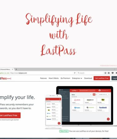 Simplifying life with Last Pass. Tired of keeping track of your passwords? LastPass will keep all your passwords secure.