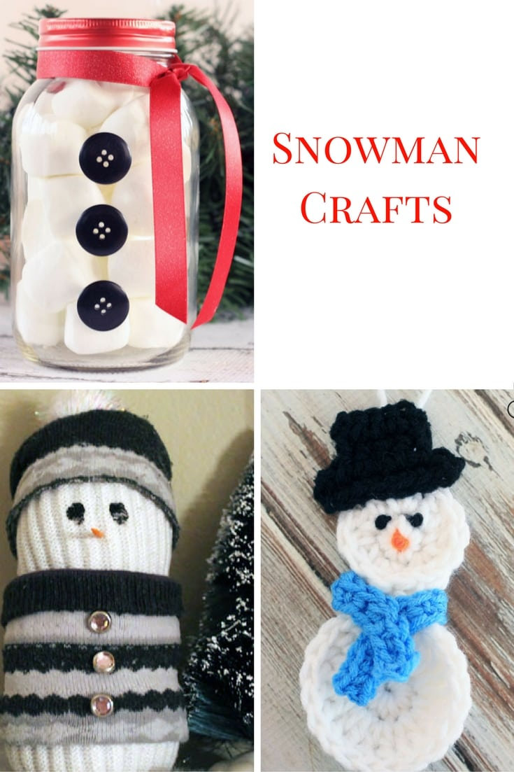 Snowman crafts perfect for the winter months!