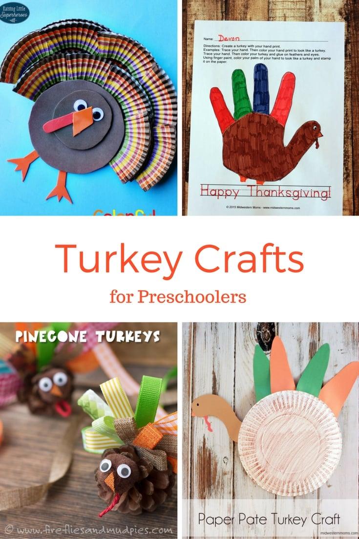 Turkey Crafts for Preschoolers