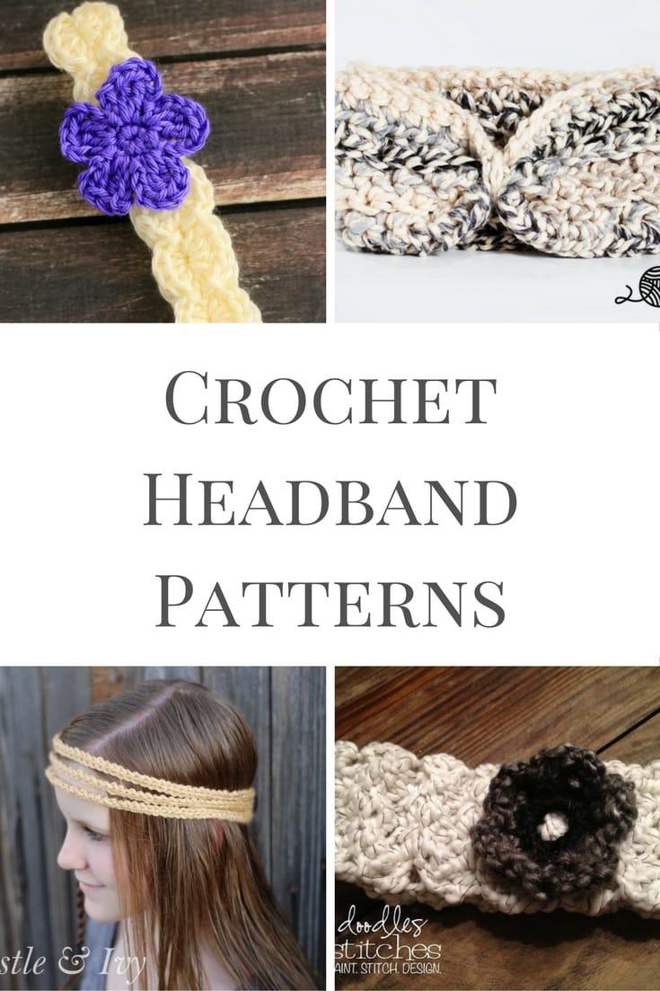 20 Crochet Headband Patterns