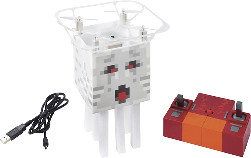 Minecraft Flying Ghast Quadcopter with Remote Controller