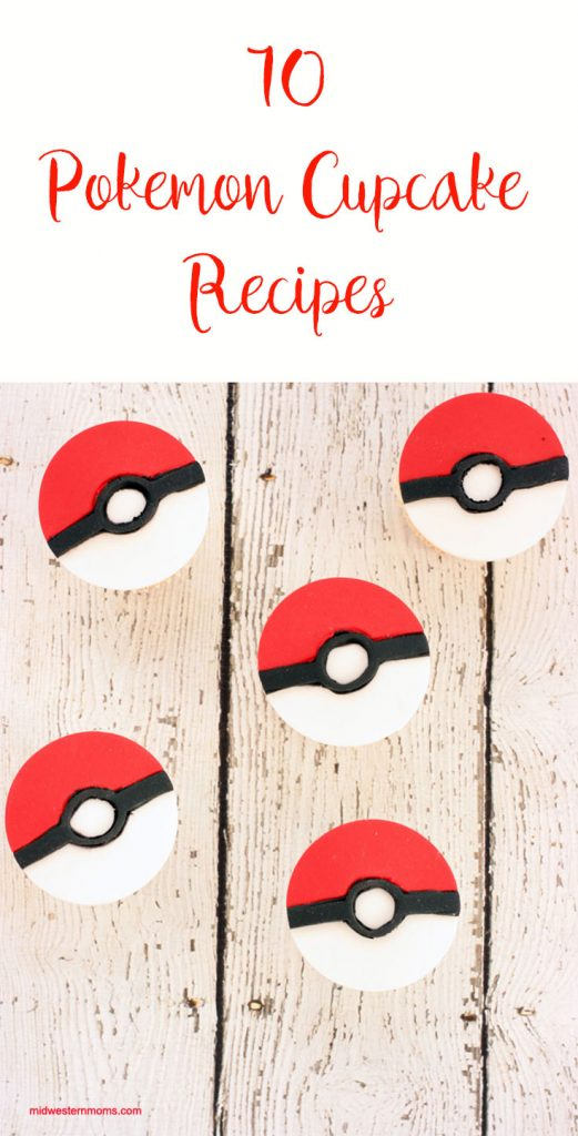 10 Pokemon Cupcake Recipes