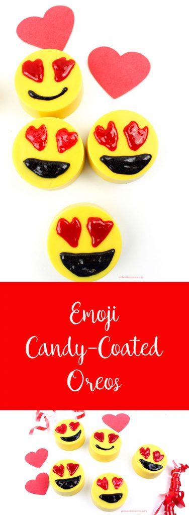 Emoji Candy Coated Oreos
