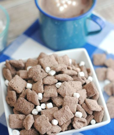 Hot Cocoa Puppy Chow Recipe