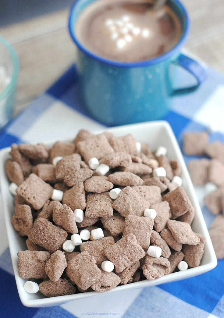 Hot Chocolate Puppy Chow Recipe