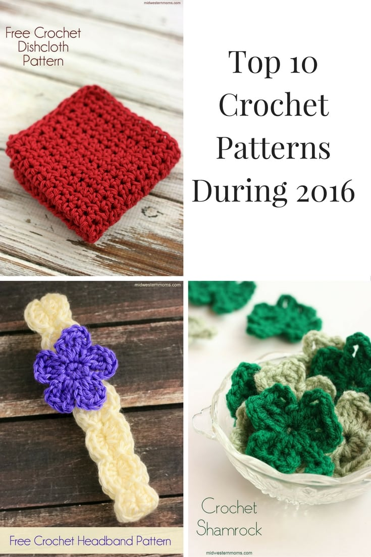 Top 10 Crochet Patterns During 2016
