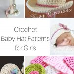 Crochet Baby Hats for girls