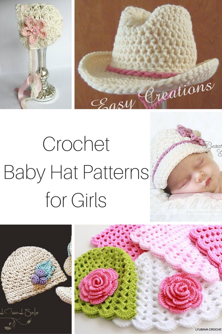 Have a little girl on the way and you need some crochet baby hat ideas  3cab5552c0e