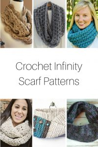 Crochet Infinity Scarf Patterns
