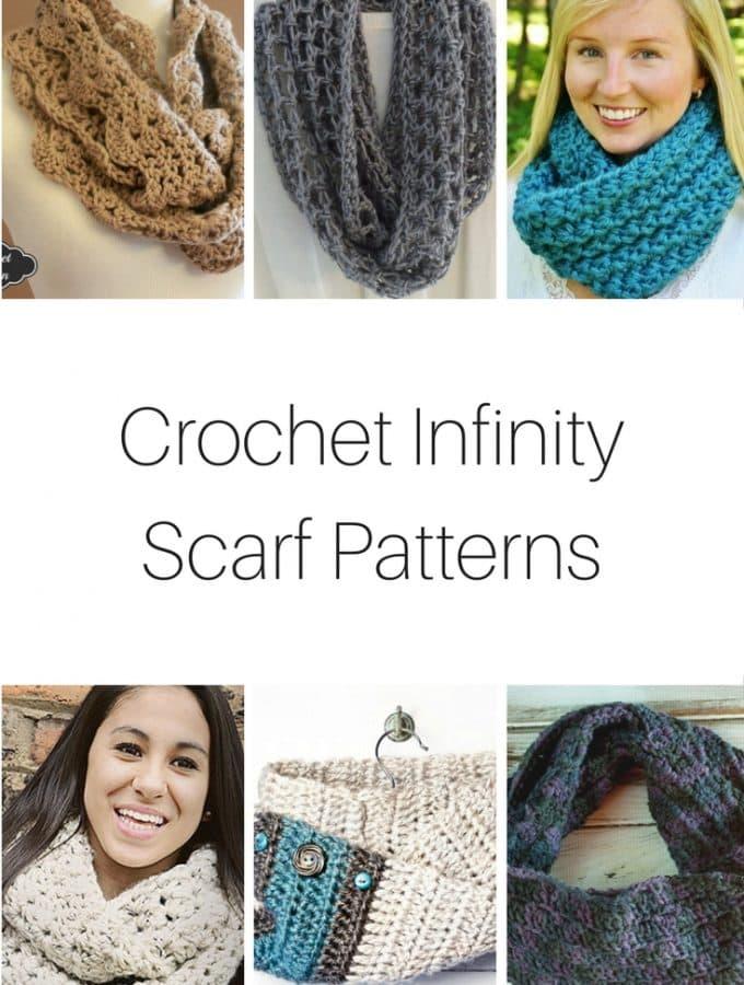 Crochet Infinity Scarf Patterns